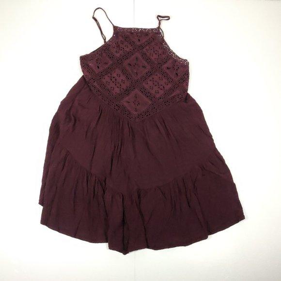 American Eagle Outfitters Boho Mini Dress M